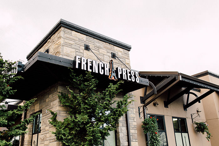 French Press Roaster & Crepes Location